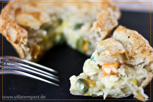Delicious Chicken & Vegetable Pie