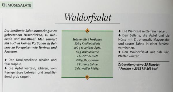 Waldorfsalat ala Barbara Rias-Bucher